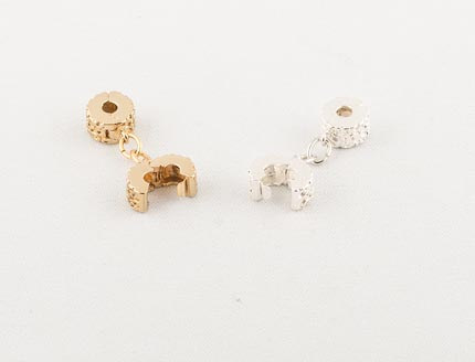 Silver & gold clips